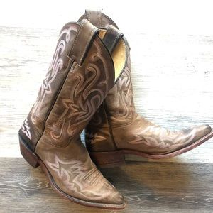 Justin BRL113 Ladies Bent Rail Western boot